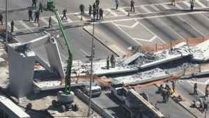 Multiple Fatalities and Trapped Cars in Pedestrian Bridge Collapse at Florida International University in Miami