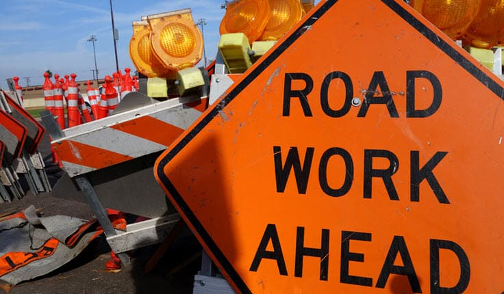 Accidents in Construction Zones in South Florida